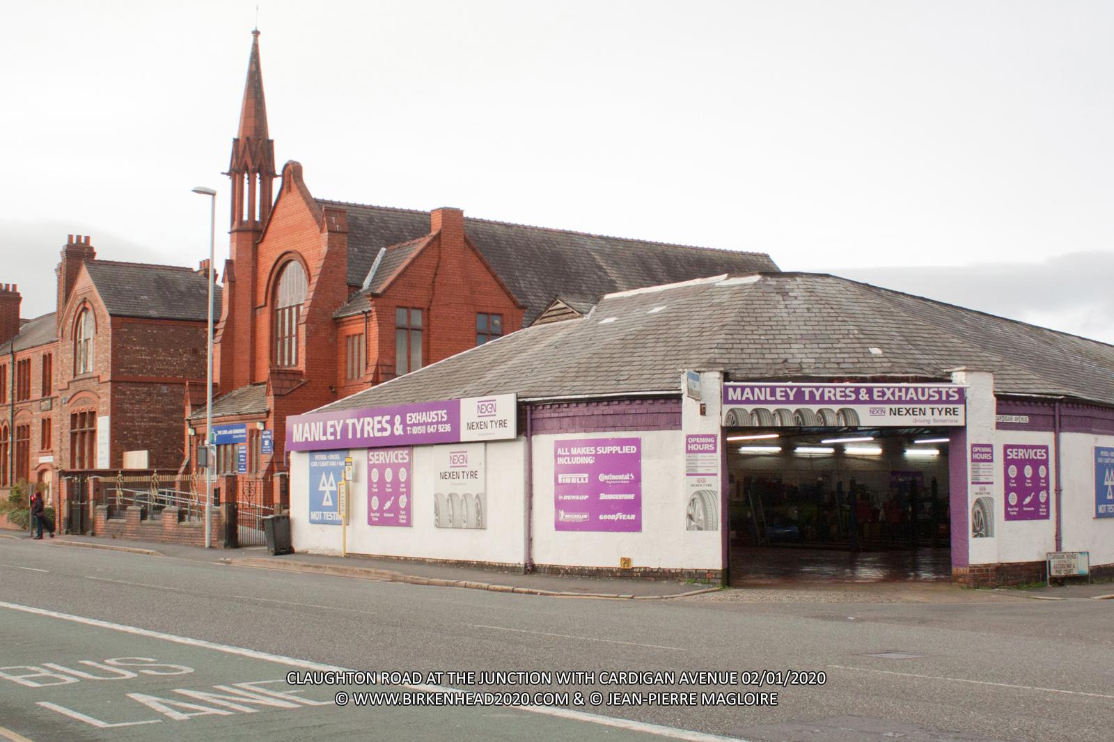 Manley Tyres_Claughton Road